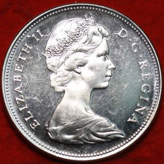 Uncirculated 1967 Canada $1 Silver Foreign Coin S/h photo