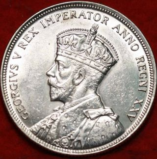 Uncirculated 1935 Canada $1 Silver Foreign Coin S/h photo