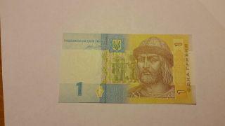 1 Hryvnia Uncirculated From Ukraine photo