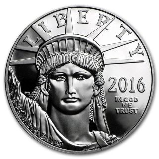 Special Price 2016 - W 1 Oz Proof Platinum American Eagle (w/box &) photo