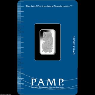 1 - Gram - Pamp - Suisse - Palladium - Bar - 9995 - Fine - In - Assay photo