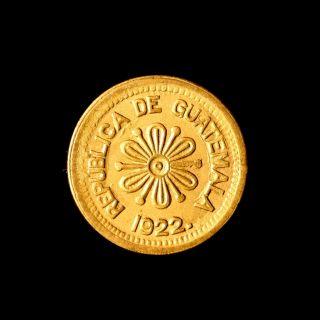 Guatemala Provisional 50 Centavos 1922 Choice Uncirculated photo