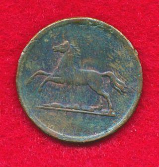 German States - Brunswick 1855b 2 Pfennig (copper) photo