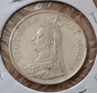 Coins: World - Europe - UK (Great Britain) - Double Florin