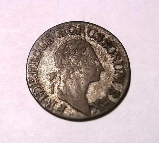 1783 Germany Silver 3 Groschen (coin) photo