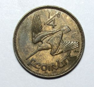 Ireland: Irish Farthing 1953 photo