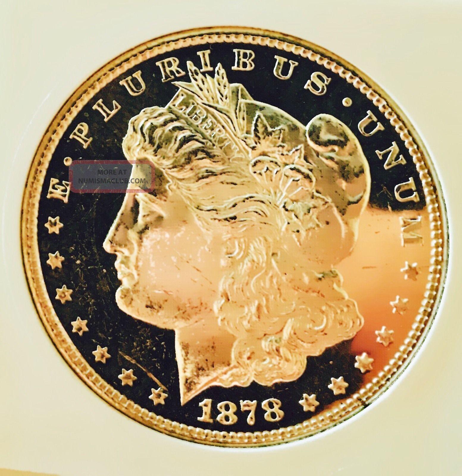 Morgan Dollar 1878s Insane Dmpl,  Real Reflective Great Mirrors Pq,  Looks 64 Dollars photo