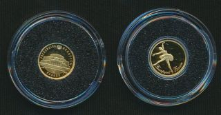 Belarus 2013 5 Rubles 0.  5g.  585 Gold Ballerina photo