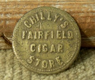 Ca 1900s Fairfield California (solano Co) Scarce