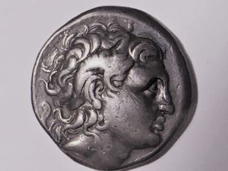 Thrace King Lysimachos Silver Tetradrachm - King ; 323 - 281 B.  C. photo