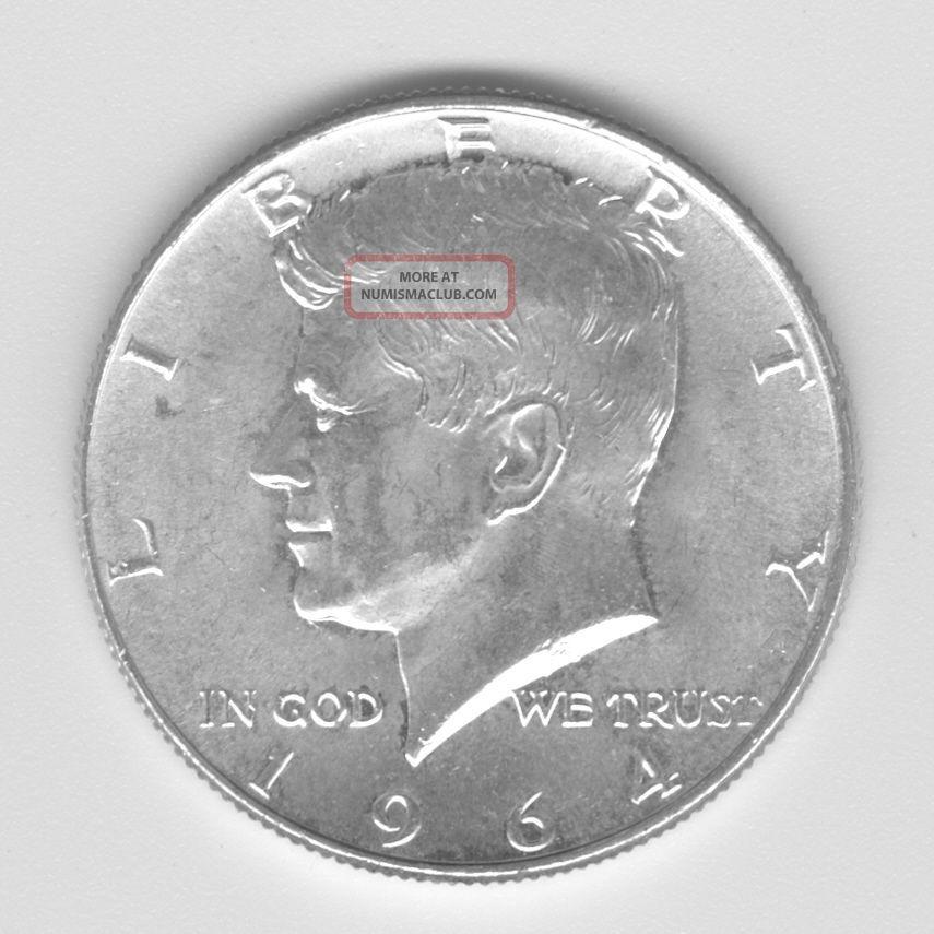 1964 Kennedy Half Dollar -.  50 - 90 Silver Half Dollars photo