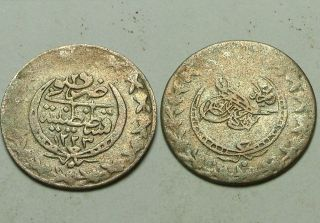 Mahmud/1866ad/rare Islamic Copper Coin/ottoman Empire/turkey Istambul 29 photo