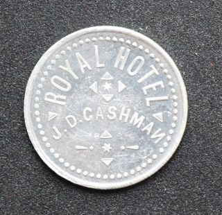 Ottawa,  Ontario: Royal Hotel 5¢ Token,  Bowman 760 - Cn - E photo