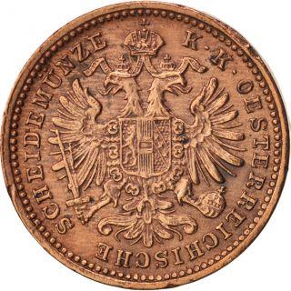 [ 416619] Austria,  Franz Joseph I,  Kreuzer,  1885,  Copper,  Km:2187 photo