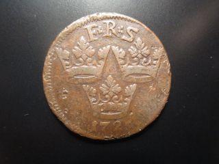 1725 Sweden 1 Ore photo