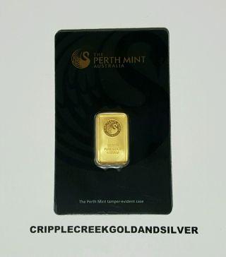 5 Gram Perth Gold Bar (w/ Assay) photo