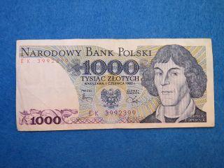 Poland 1982 1000 Zloty [200] photo