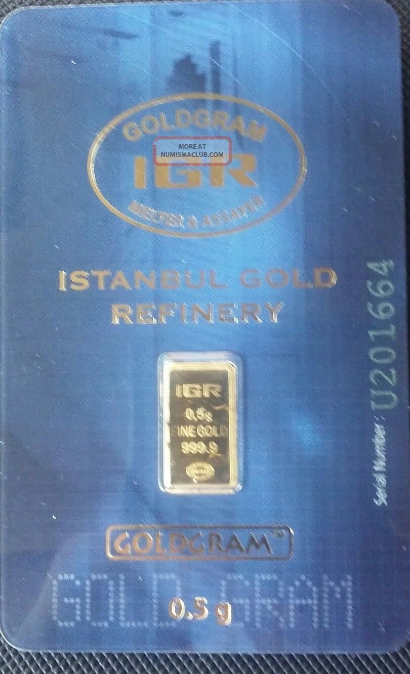 . 5 Gram Gold Bar Gold photo
