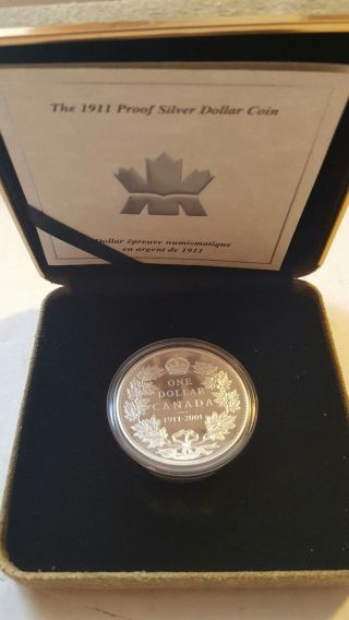 2001 Royal Canadian 1911 - 2001 Proof Dollar photo