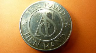 South - Africa/afrique/afrika Token/jeton/ficha - American Swiss Jewellers Rr photo