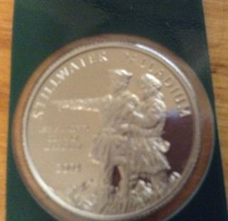 2004 Stillwater 1/4 Oz Palladium Coin Lewis And Clark photo