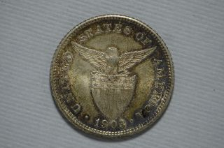 1903 Phillippines 20 Centavos Au,  (cn1792) photo