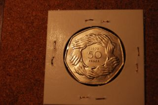 Great Britain 1973 50p High Grade/proof photo
