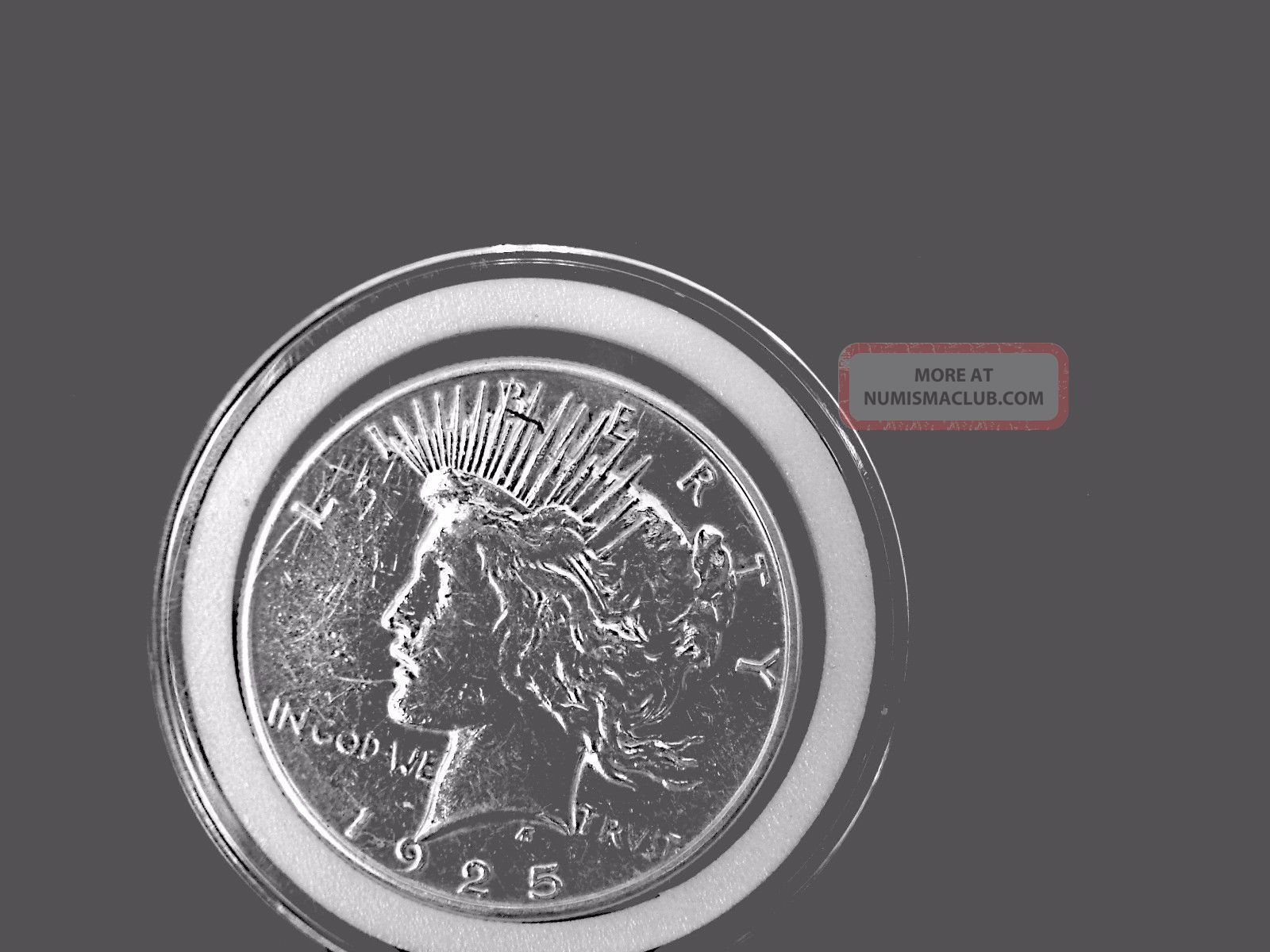 1925 S Collectible Peace Silver Dollar Dollars photo