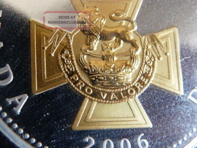 Gold Plated Gem 2006 Victoria Cross Anniv.  Silver $1.  00 C.  C.  C.  S.  Pf - 69 U.  H.  C. Coins: Canada photo