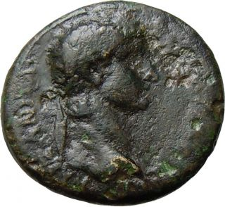 Claudius Thessalonica In Macedonia Authentic Ancient Roman Provincial Coin Rare photo