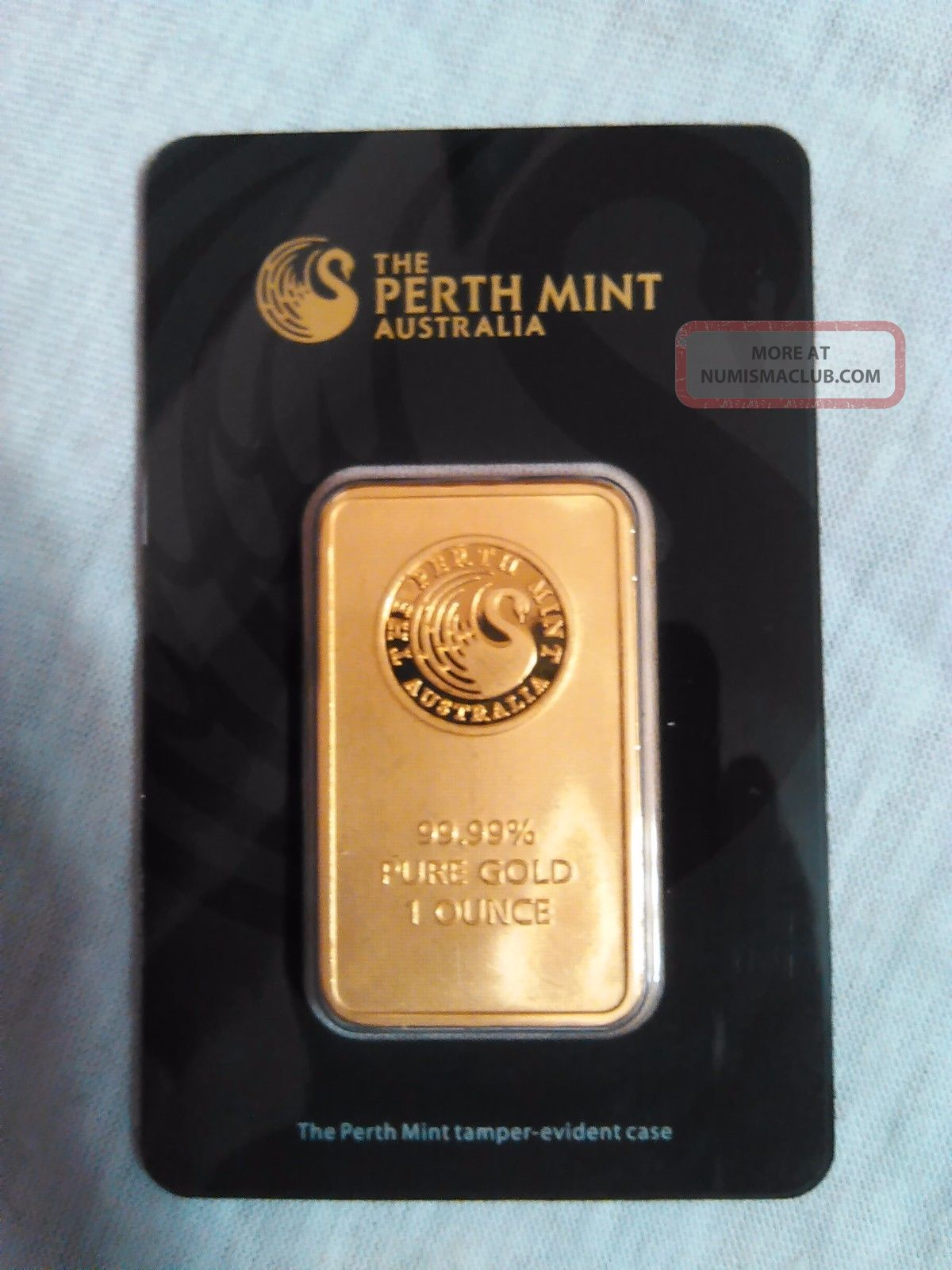 1 Oz Perth Gold Bar.  9999 Fine (in Assay) Bars & Rounds photo