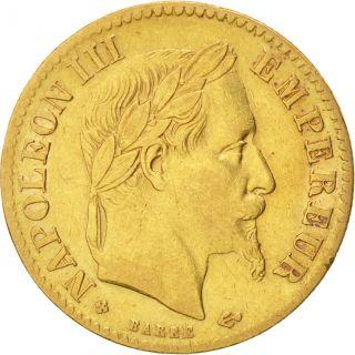 [ 450733] France,  Napoléon Iii,  10 Francs,  1868,  Strasbourg,  Km:800.  2 photo