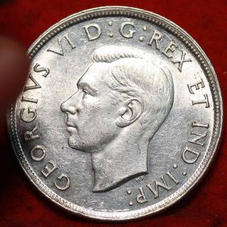 Uncirculated 1939 Canada $1 Silver Foreign Coin S/h photo