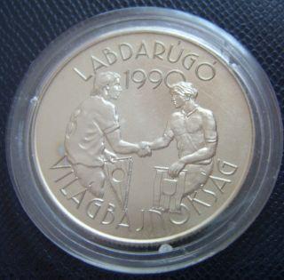 Hungary / 100 Forint - Sport - Football / 1989 Bu photo