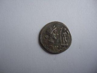 Ancient Roman Silver Ar Denarius Coin L.  Cornelius Sulla 84 - 83 Bc Extremely Rare photo