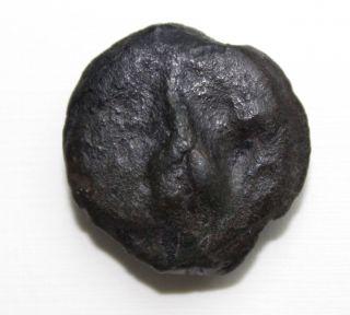 Rrr Roman Republic Aes Grave Æ Uncia 300 - 270 Bc - Extreme Rare Coin photo