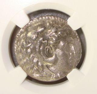336 - 323 Bc Alexander Iii,  The Great Ancient Greek Silver Tetradrachm Ngc Xf photo