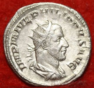 Ancient Roman Coin Philip I 244 - 249 Ad Foreign Coin S/h photo