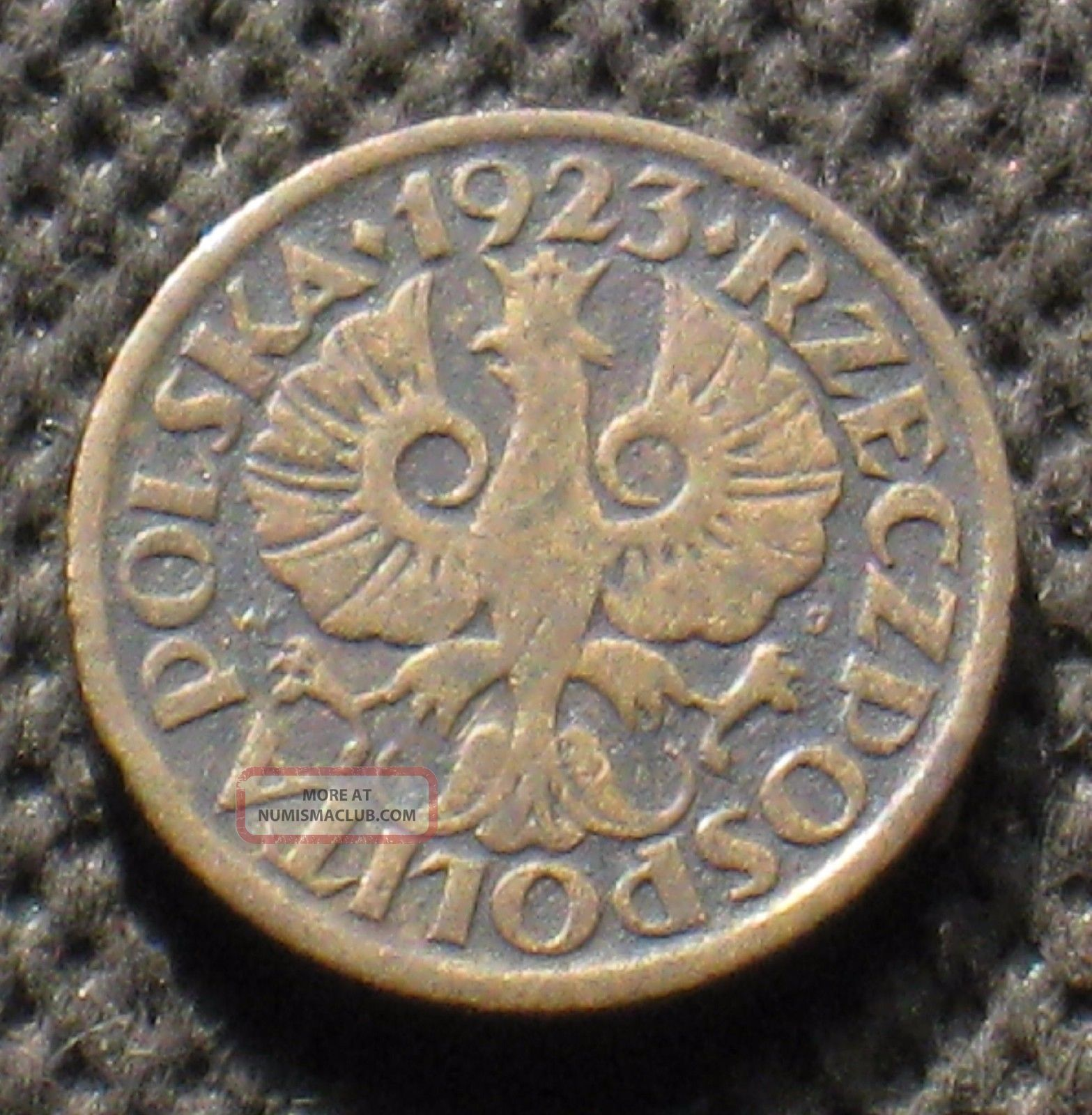 Old Coin Of Poland 5 Groszy 1923 Second Republic