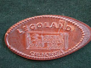 1995 D Legoland California Elongated Penny Pressed Smashed W/ Full Date. photo