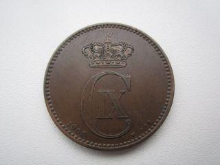 Denmark 5 Ore 1906 Xf photo