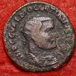 Ancient Roman Coin Diocletian 284 - 305 Ad Foreign Coin S/h photo