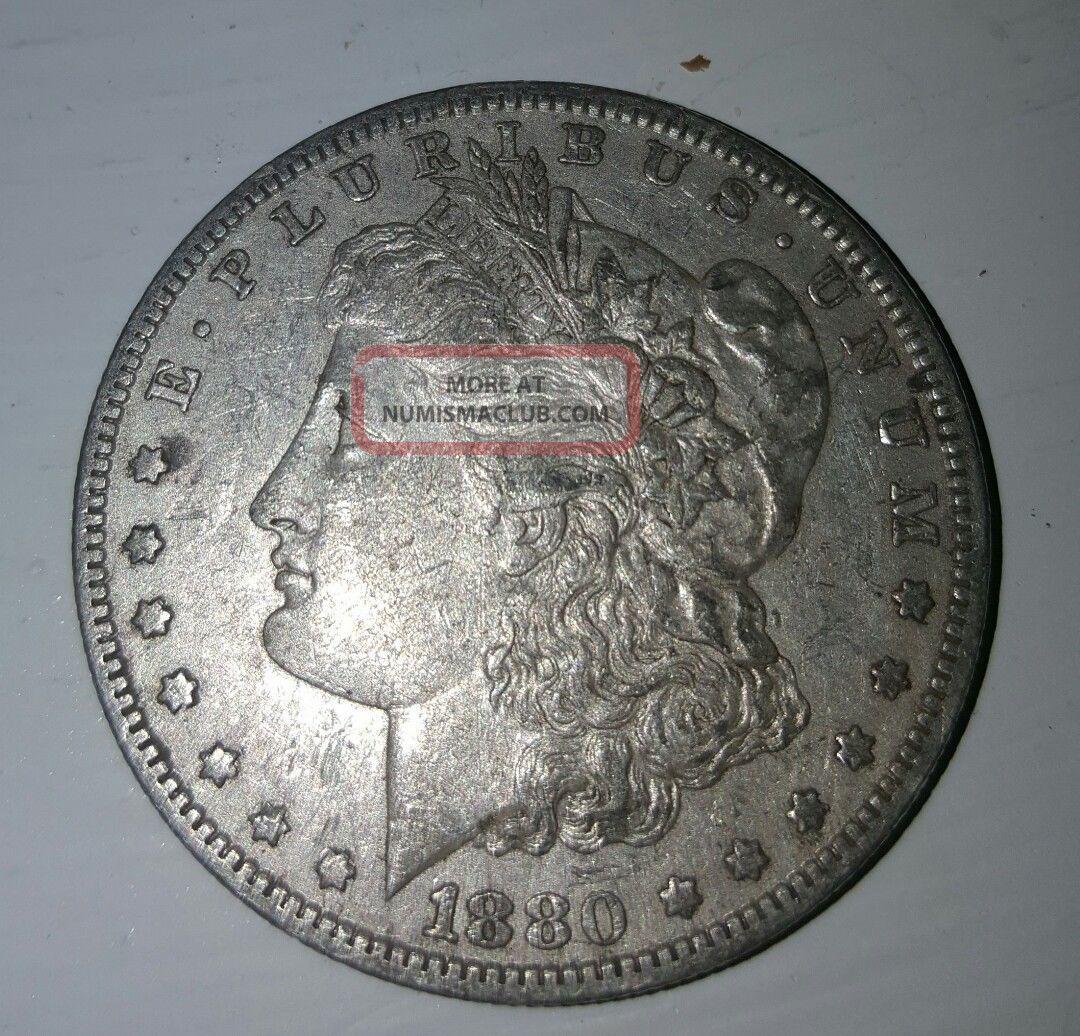 1880 O Morgan Silver Dollar Key Date Dollars photo
