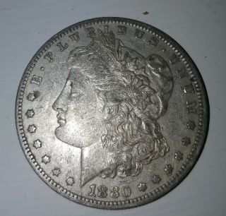 1880 O Morgan Silver Dollar Key Date photo