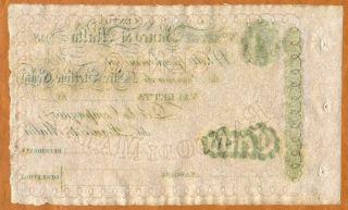Malta,  Banco Di Malta,  100 Lire,  18xx (ca 1886),  P - S165,  Unc Rare,  Remainder photo