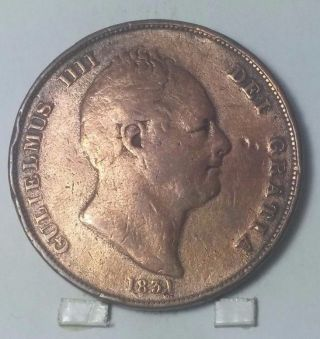 1831 British Penny Vg, photo