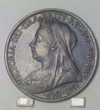 1897 Great Britian Penny Au photo