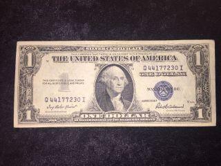 1935 F $1 Silver Certificate Q44177230i photo
