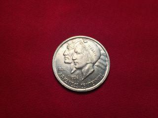1937 D Arkansas Centennial Commemorative Half Dollar photo