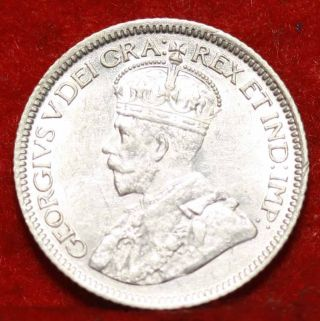 Uncirculated 1936 Canada 10 Cents Silver Foreign Coin S/h photo
